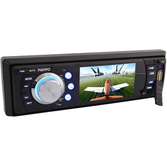 Pilippo PO-725 3 inç Ekranlı DVD USB TV Oto teyp resmi