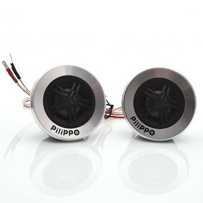 Pilippo PO-105 250 Watt Neodymium Tweeter Oto Hoparlör resmi