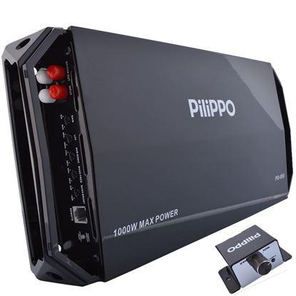 Pilippo PO-950 Mono 1000 Watt Oto Anfi Amfi resmi