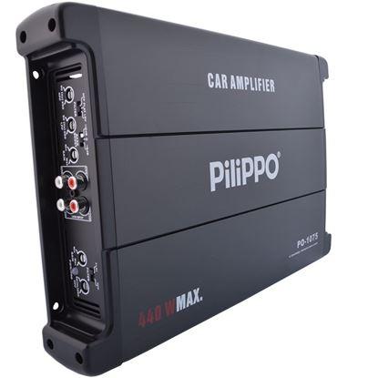 Pilippo PO-1075 4 Kanal 440 Watt Oto Anfi Amfi resmi